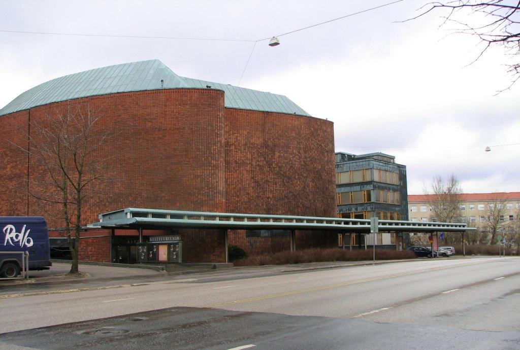 Дом культуры в Хельсинки