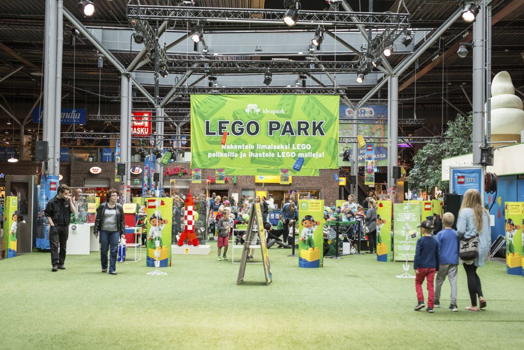 LEGO-парк в торгово-развлекательном центре Ideapark. Фото: Visit Tampere