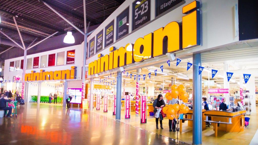 Магазин Minimani в Ideapark. Фото: Visit Tampere / Laura Vanzo