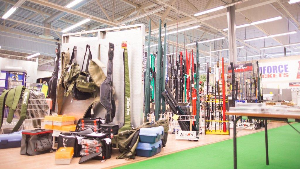 Рыболовный магазин Kalastus Suomi - здесь найдется все для отличной рыбалки. Фото Visit Tampere / Laura Vanzo