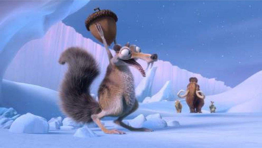 Ледниковый период - новый фильм в 4D кинотеатре