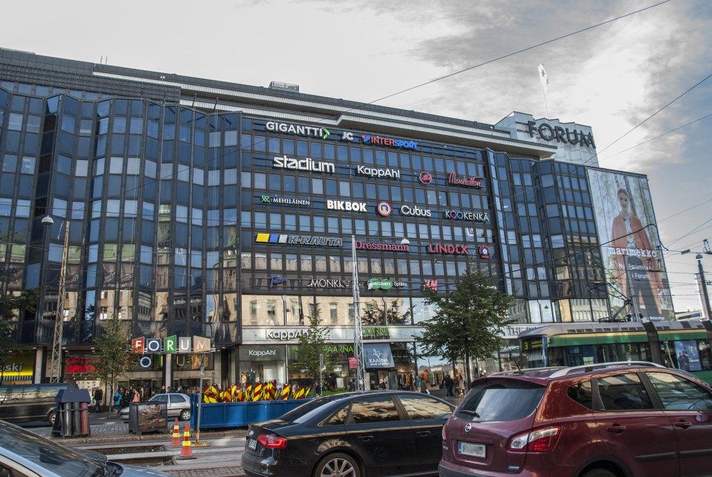 Торговый центр Forum на проспекте Маннергейма