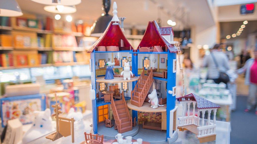 Магазин Муми-сувениров. Фото Visit Tampere / Laura Vanzo