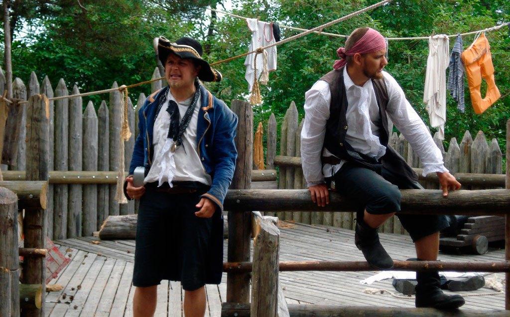 Семейный отдых на побережье Пиратский остров Васки