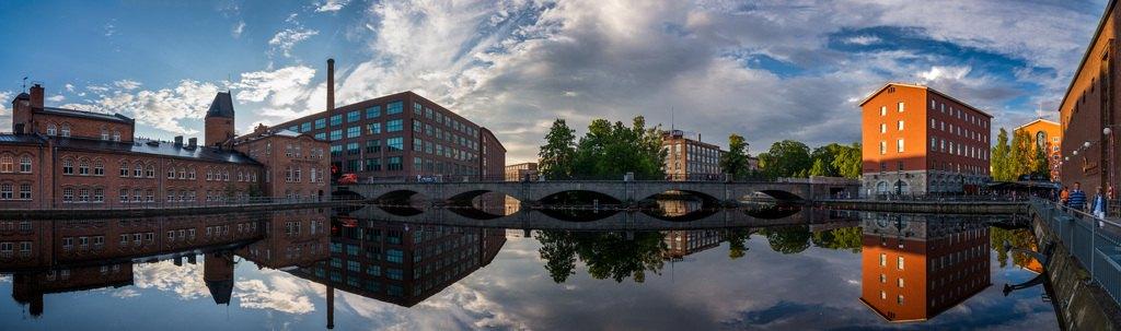 Панорама Тампере. Фото: Visit Tampere