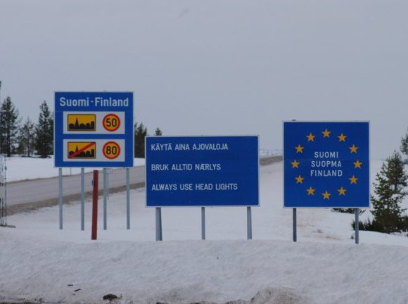 граница Финляндии