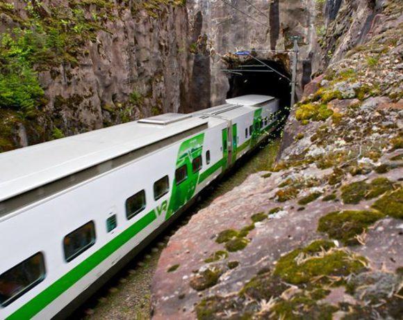 Финский поезд