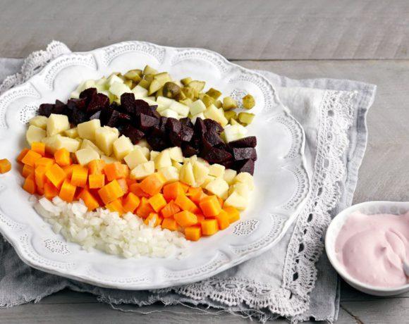 Винегрет по-фински: салат Rosolli