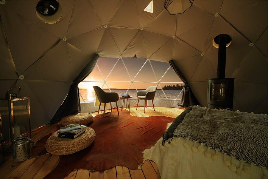 Отель Aurora Domes