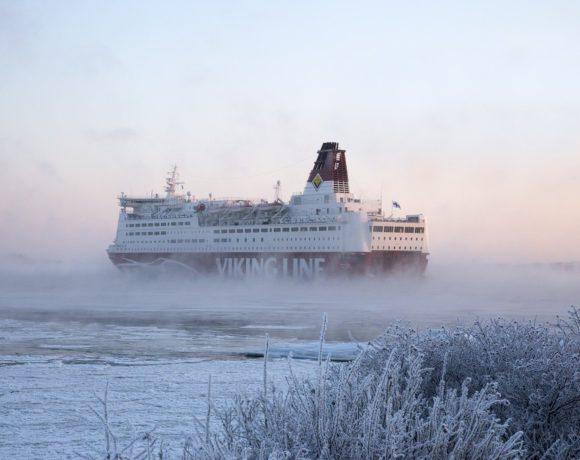 Зимний круиз на пароме Viking Line