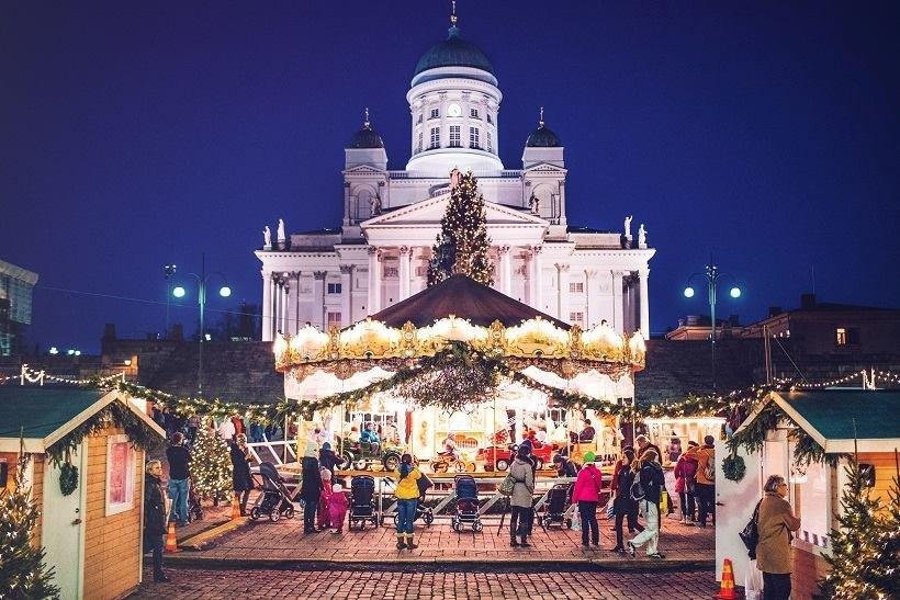 Финляндиz на Новый 2020 год Отдых в Финляндии на Новый 2020 год: туры, отели senaatintori 1