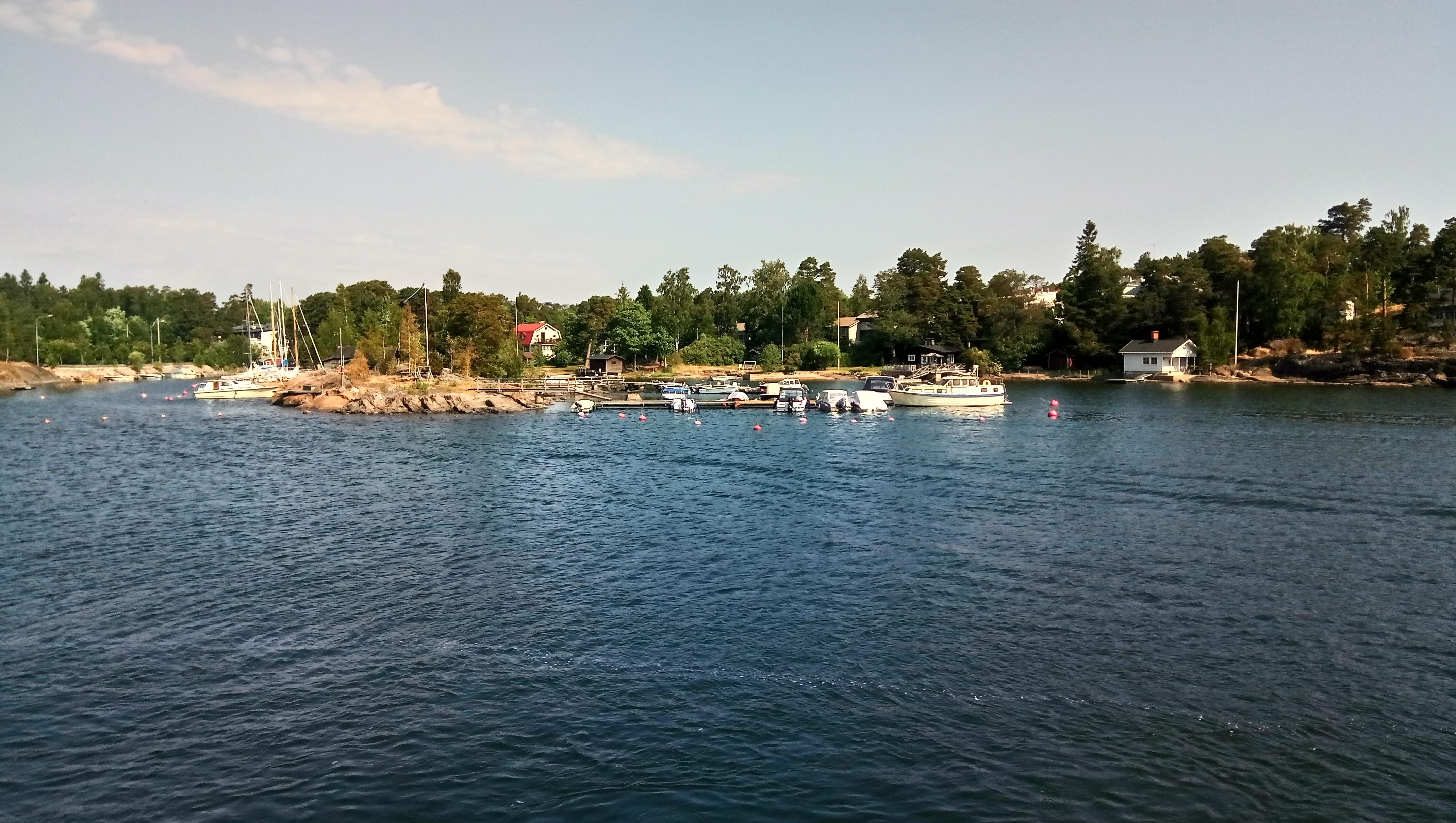 Дачи на архипелаге Хельсинки