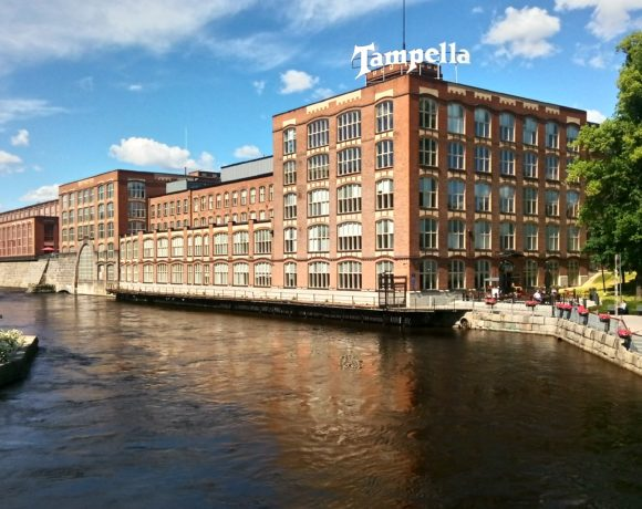 Тампере, бывшая фабрика Tampella