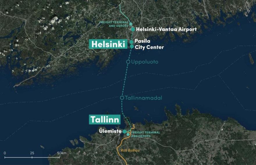 Проект железнодорожного тоннеля между Хельсинки и Таллинном